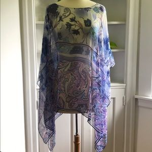 Coldwater Creek Poncho/Coverup